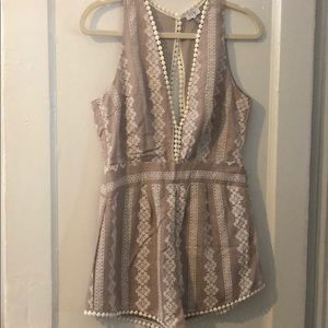 Tobi detailed Romper